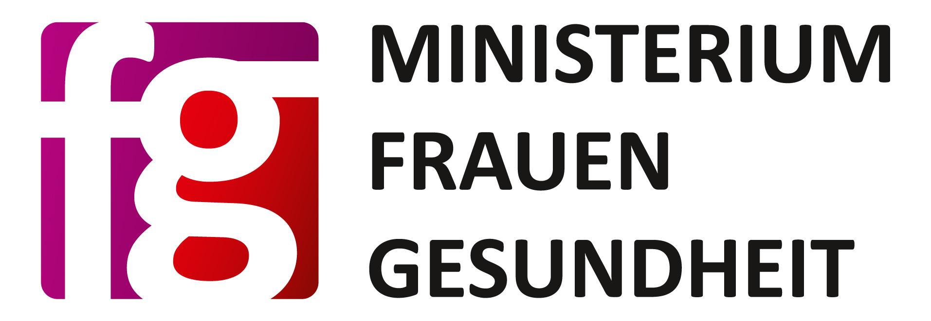 Ministerium für Frauen und Gesundheit Logo